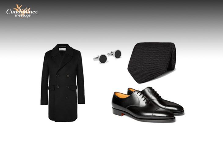 Attires that men should wear at a funeral