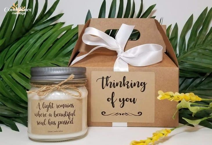Make a Memory Jar with the Memories of Departed Person and Send it to the Bereft